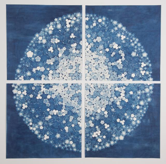 , 'Botanical Disc 2,' 2015, K. Imperial Fine Art