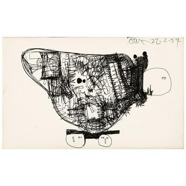 , 'The Solid Rock Go-Cart (A Sculpture),' 1954, Caviar20