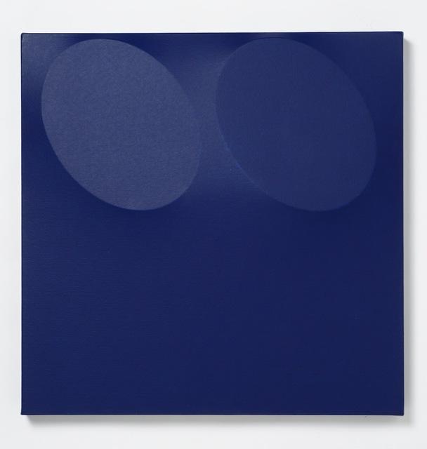 , '2 Ovali blu,' 2006, Kanalidarte