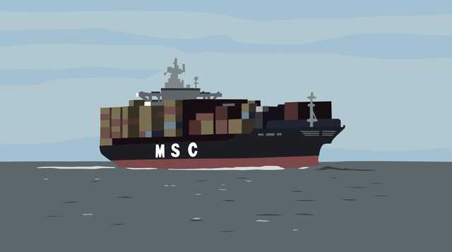 , 'Container Ship,' 2014, Christopher Grimes Gallery