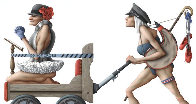 , 'Iron Maid,' 2014, Jonathan LeVine Projects