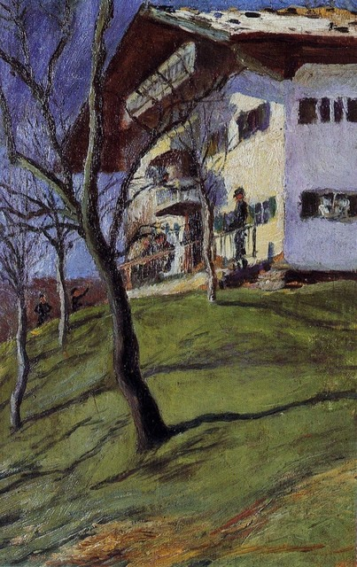 , 'Our little house in Tegernsee,' 1910, Galerie Thomas