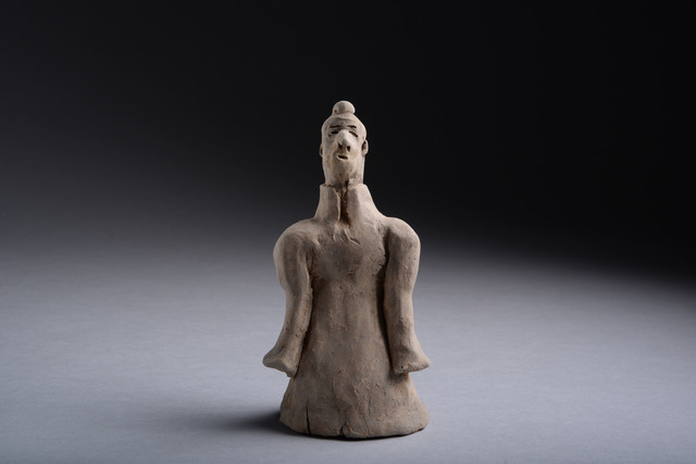 , 'Terracotta Sleeve Dancer,' 206 BCE-220, ArtAncient