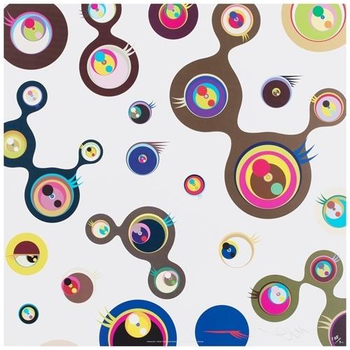 Takashi Murakami, 'Jellyfish Eyes - White 3', 2006, Dope! Gallery
