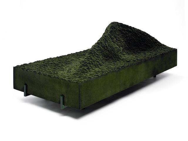 , 'Sofa 'Pyrenees' Green,' , Machado - Muñoz
