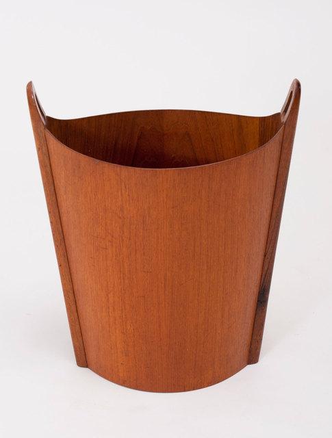 , 'Teak Wastepaper Bin,' ca. 1960, Patrick Parrish Gallery