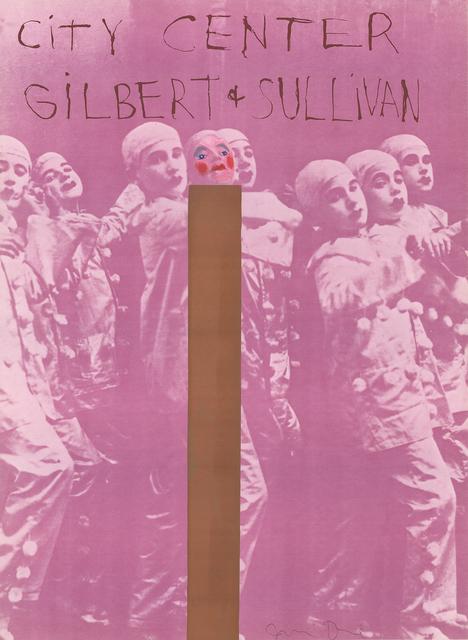 Jim Dine, 'Gilbert And Sullivan', ArtWise