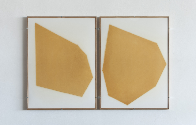 , 'Yellow Composition No. 03,' 2014, Josée Bienvenu