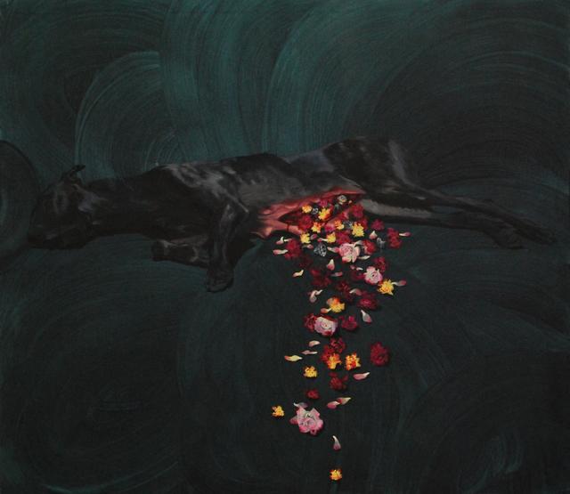, 'Wound,' 2012, Galerie Sandhofer