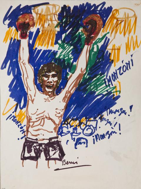 , '¡Monzón! ¡Monzón!,' 1977, Cosmocosa