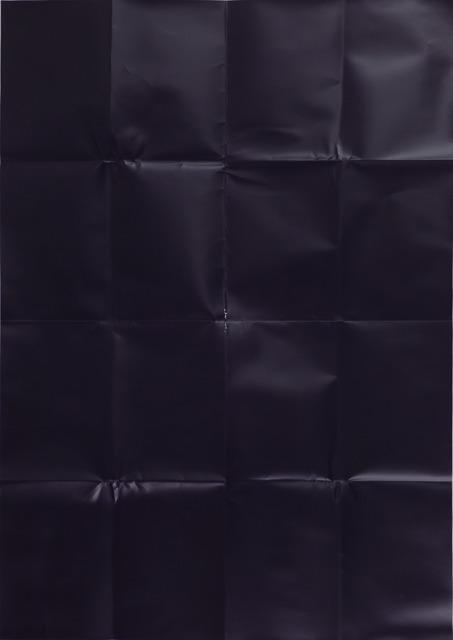 , 'Blueblack,' 2012, Sic