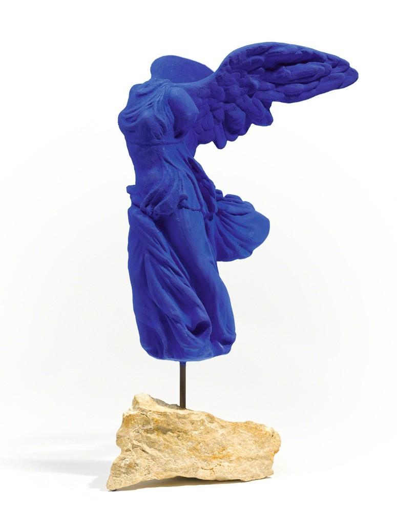 Yves Klein   Victoire de Samothrace (S 9)   Artsy