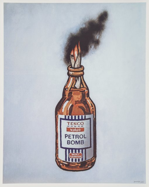 Banksy, 'Petrol Bomb, poster', 2011, Heritage Auctions