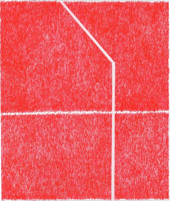 , 'Spray Red 7,' 2019, Haw Contemporary