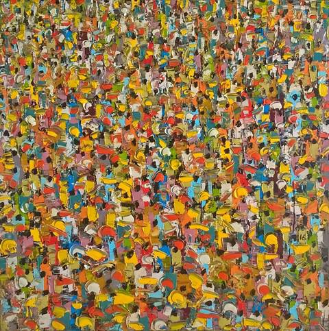 , 'People II,' 2016, Christopher Moller Gallery