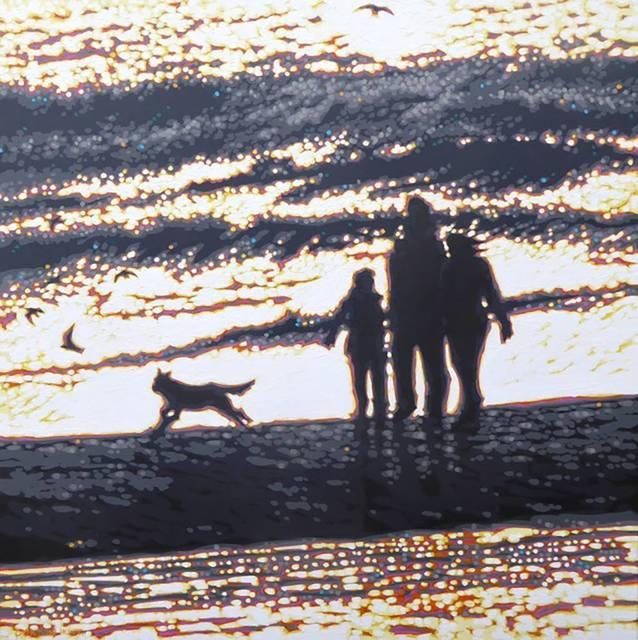 , 'Very Bright & Very Breezy - Beach Walk,' , Agora Gallery
