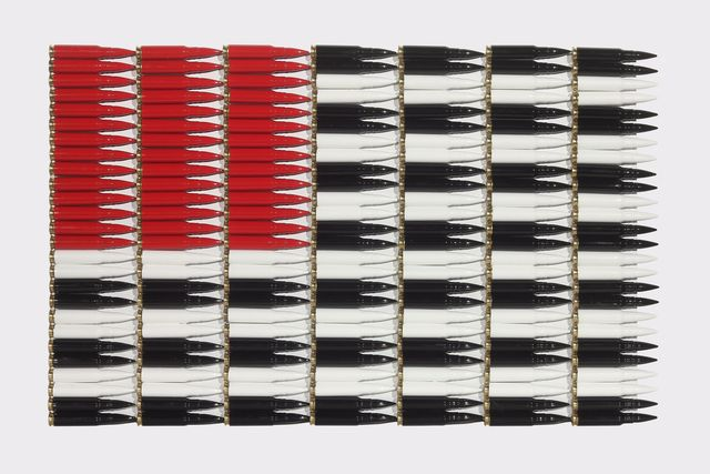 , 'Red White and Black,' 2016, Nancy Hoffman Gallery