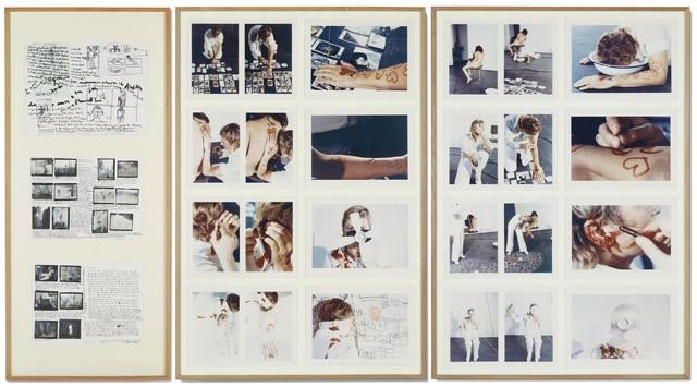 Gina Pane, 'Action mélancolique 2x2x2', 1974, Galleria Fumagalli