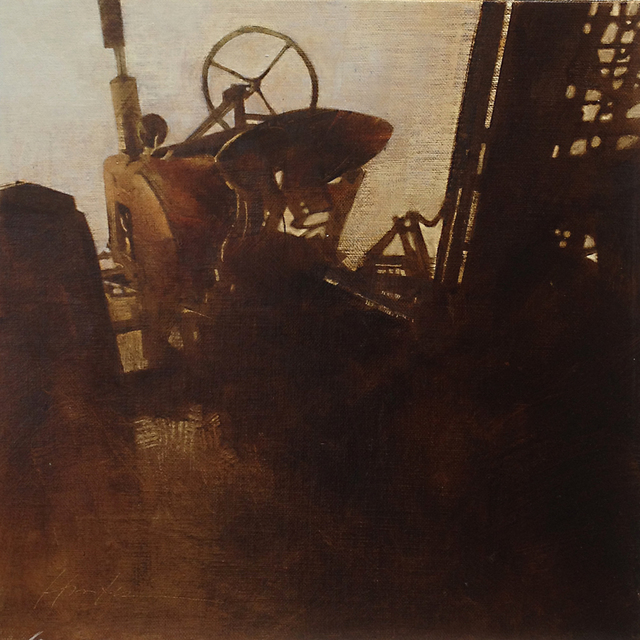 , 'Farmall - Rear View,' 2018, West Branch Gallery