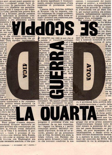 , 'La quarta ,' 1967, Galleria Michela Rizzo