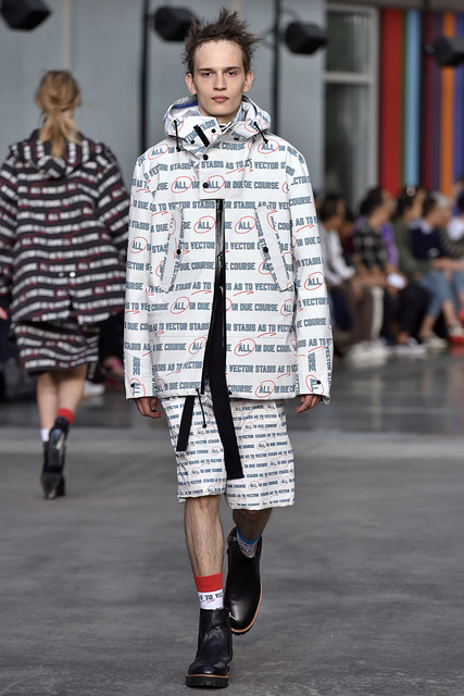 Sacai, 'All In Print Coat', 2018, Fashion Design and Wearable Art, 100% Cupro, Free Arts NYC Benefit Auction