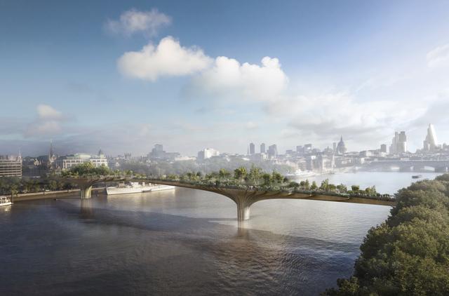 , 'Garden Bridge, London,' 2012, Hammer Museum