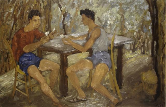 , 'Card Game,' 1936, Brun Fine Art