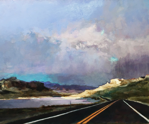, 'Toward Yellowstone, landscape painting,' 2017, Hostetler Gallery