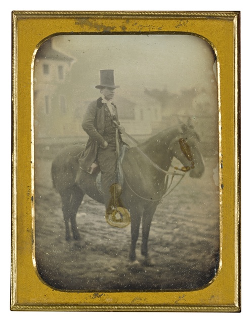 Attributed To Thomas Mcclelland, 'Jeremiah Wooden, MD, En Route to a House Call (Gosport, Indiana)', 1854, Sotheby's