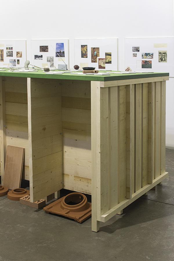 Beto Shwafaty, Hablemos de reparaciones, 2016. Installation view. Detail