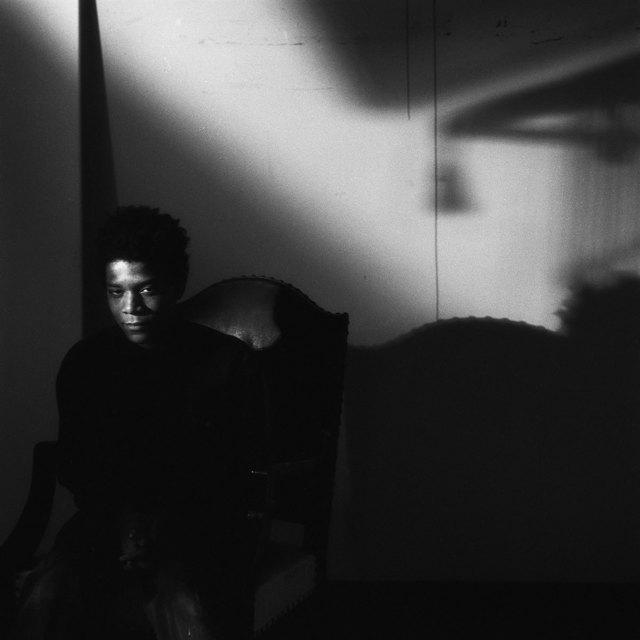 Jeannette Montgomery Barron, 'Jean-Michel Basquiat, NYC', 1984, Photography, Vintage gelatin silver print., Patrick Parrish Gallery