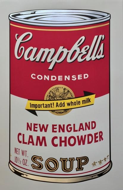 , 'Campbell's Soup II, New England Clam Chowder (F&S II.57),' 1969, Joseph Fine Art