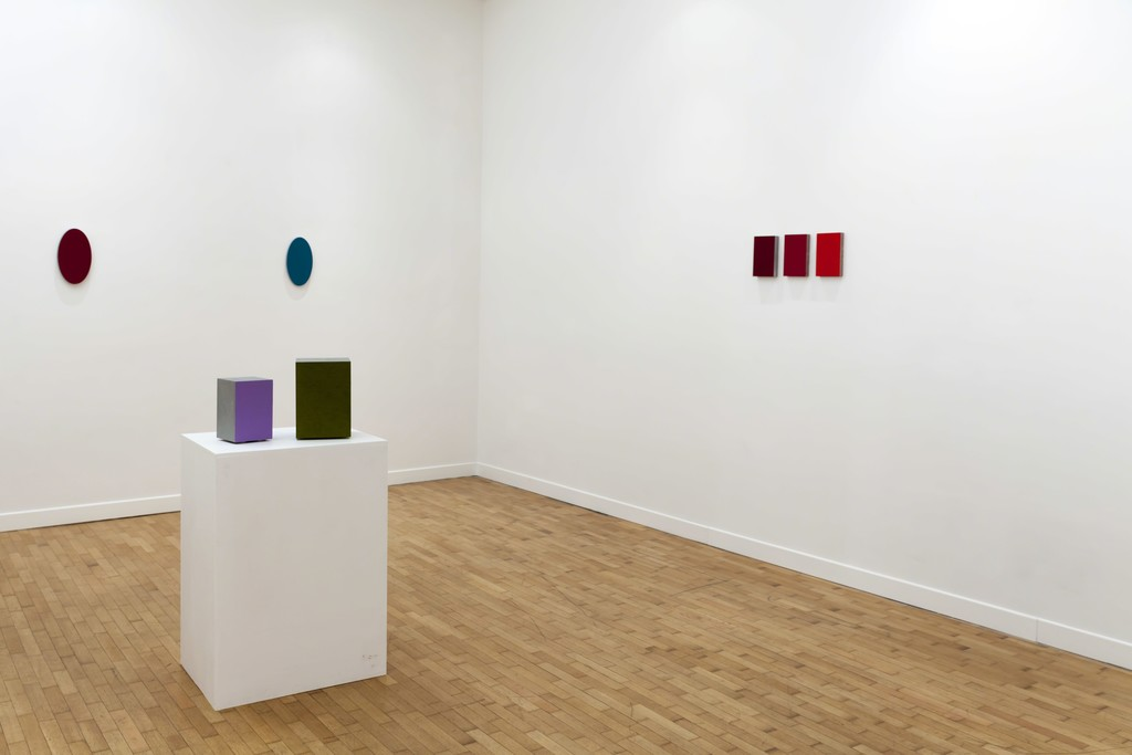 "Alfonso Fratteggiani Bianchi, installation view ""Lost in Color"""