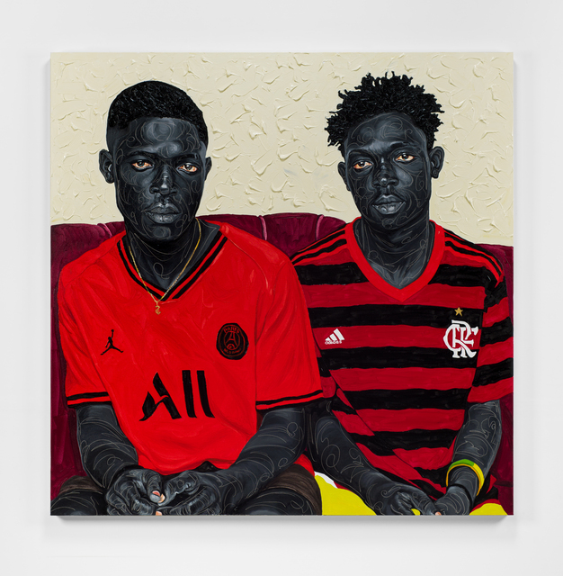 Otis Kwame Kye Quaicoe, 'Ethos', 2021, Painting, Oil on canvas, Roberts Projects