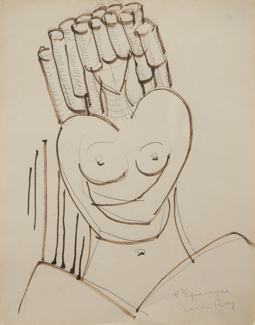 Man Ray, 'L'équivoque', ca. 1950, HELENE BAILLY GALLERY