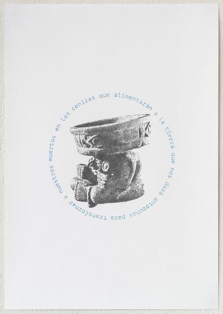 , 'Antorcha: en el aire,' 2015, Páramo