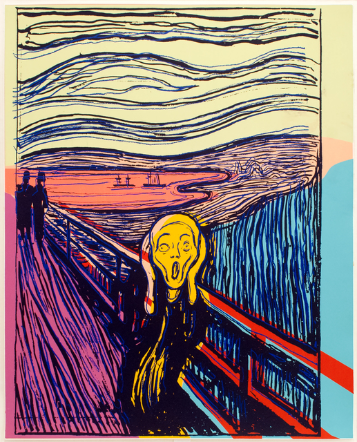 , 'The Scream (After Munch),' 1984, Mary Ryan Gallery, Inc