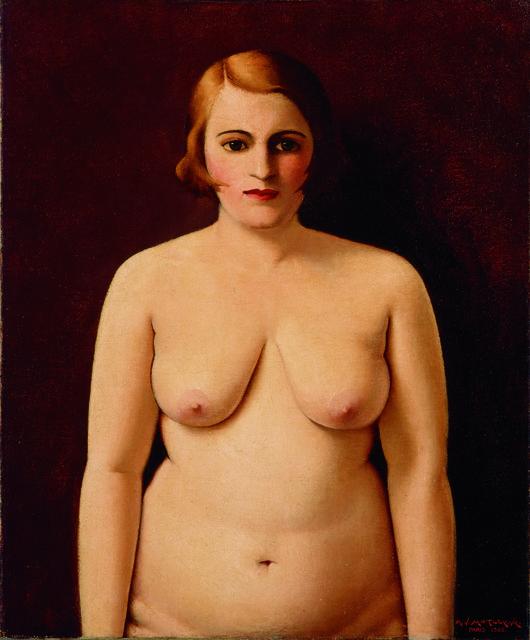 Nude (Portrait of My Wife)