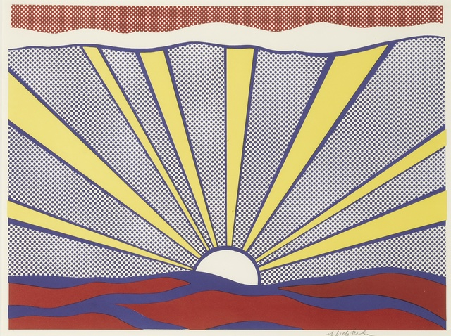 Roy Lichtenstein, 'Sunrise (Corlett II.7)', 1965, Print, Offset lithograph printed in colors, Sotheby's