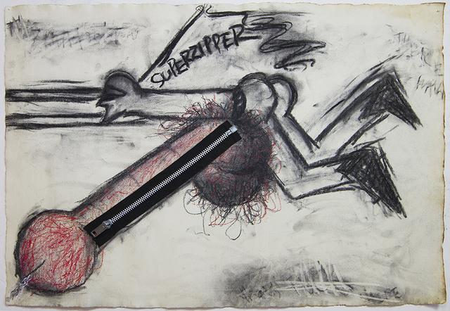 , 'Superzipper,' 1966, Kunsthall Stavanger