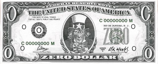 , 'Zero Dollar,' 1984, Blanton Museum of Art