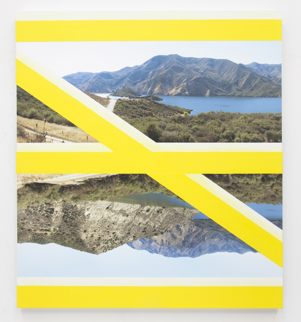 , 'CROSSING (Yellow),' 2013, Freight + Volume