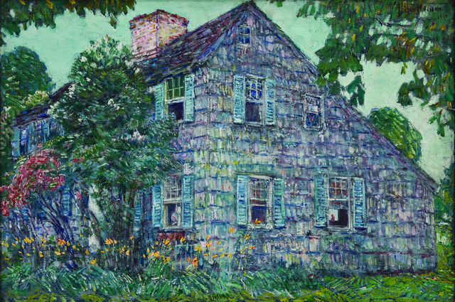 , 'Old House, East Hampton,' 1917, Montclair Art Museum