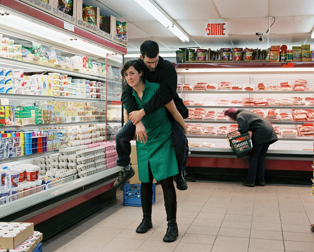 , 'At the Grocery Store (Surrender),' 2004, The Print Atelier