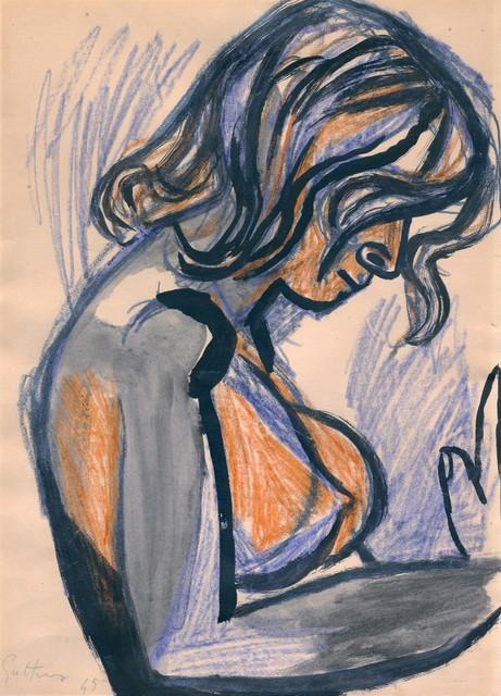 , 'Donna Nuda,' 1945, Galerie Andrea Caratsch