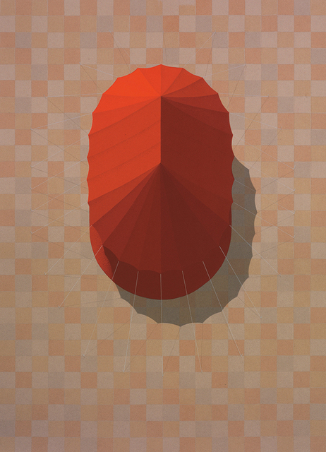 , 'Urban Tent 1 (Red),' 2014, PRATT CONTEMPORARY / PRATT EDITIONS