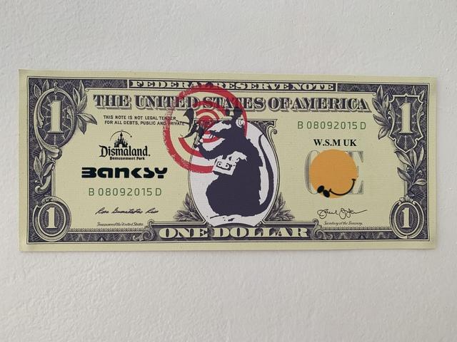 "Banksy, 'BANKSY DISMALAND US DOLLAR ""RADAR RAT"", DISMAL DOLLAR, COMPLETE WITH COA , LTD EDT', 2015, Arts Limited"