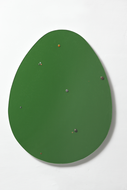 , 'Untitled (egg / dark green ),' 2016, Wentrup