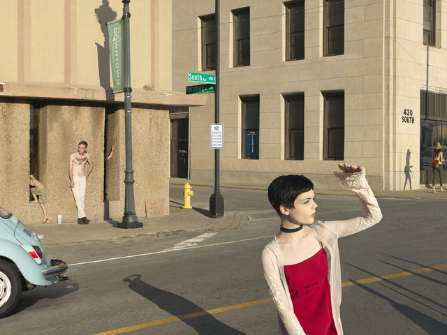 Julie Blackmon, 'South & Pershing St.', 2017, G. Gibson Gallery