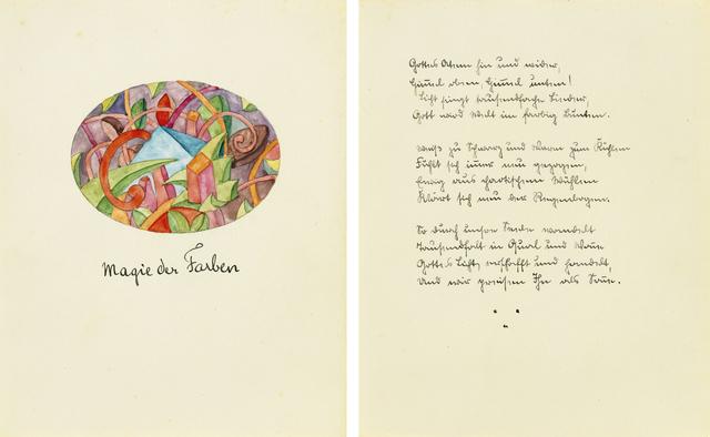 , 'Magie der Farben,' 1921, Ludorff